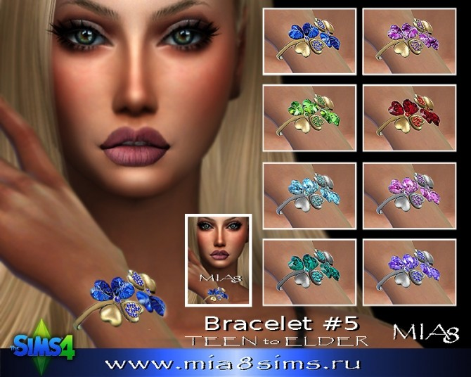 Sims 4 Bracelet (L) F05 at Mia8Sims