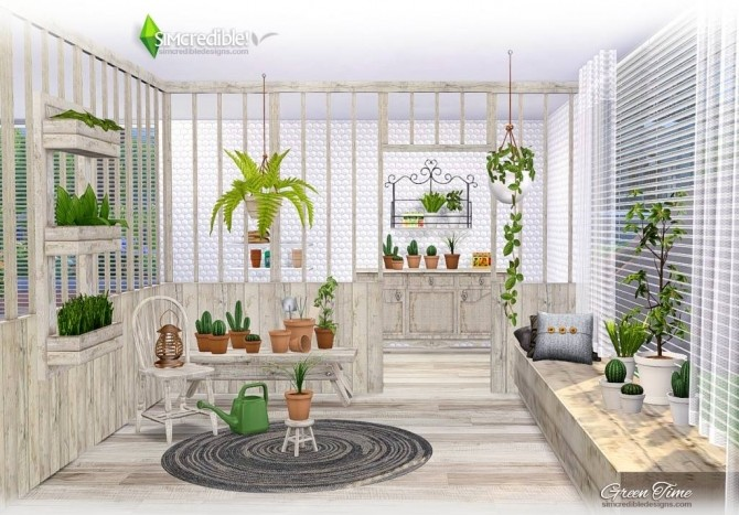 GreenTime set at SIMcredible! Designs 4 image 169 670x467 Sims 4 Updates