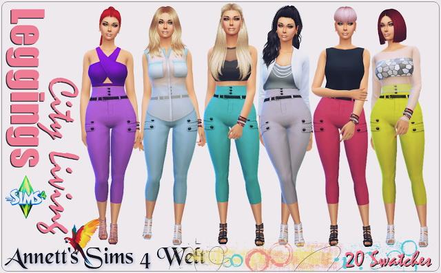 City Living leggings at Annett's Sims 4 Welt image 1693 Sims 4 Updates