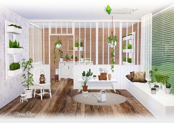 GreenTime set at SIMcredible! Designs 4 image 170 670x474 Sims 4 Updates