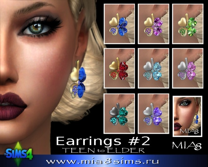 Earrings F02 at Mia8Sims image 1702 670x536 Sims 4 Updates