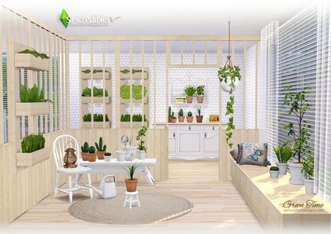 GreenTime set at SIMcredible! Designs 4 image 171 670x474 Sims 4 Updates