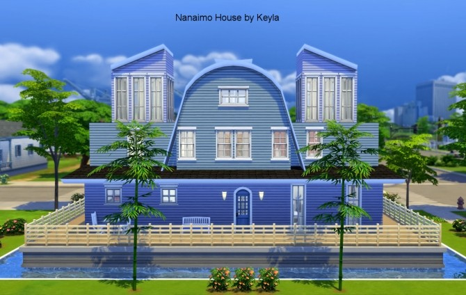 Sims 4 Nanaimo house at Keyla Sims