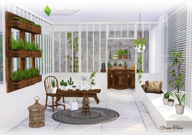 GreenTime set at SIMcredible! Designs 4 image 172 670x474 Sims 4 Updates