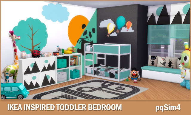 Toddler Bedroom At PqSims4 Sims 4 Updates