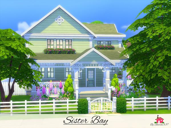 Sims 4 Sister Bay house by sharon337 at TSR