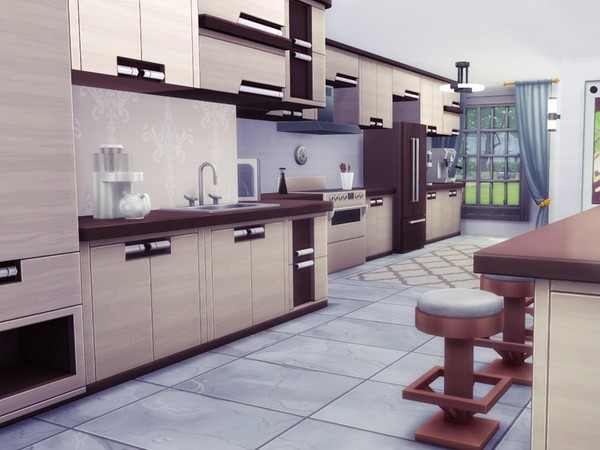 Sims 4 My Dream Home by MychQQQ at TSR