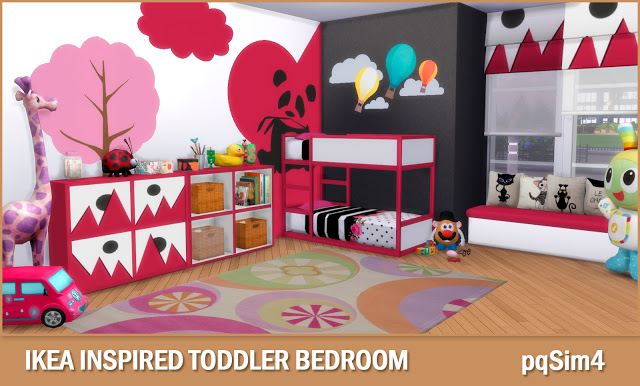 Toddler Bedroom at pqSims4 image 1731 Sims 4 Updates