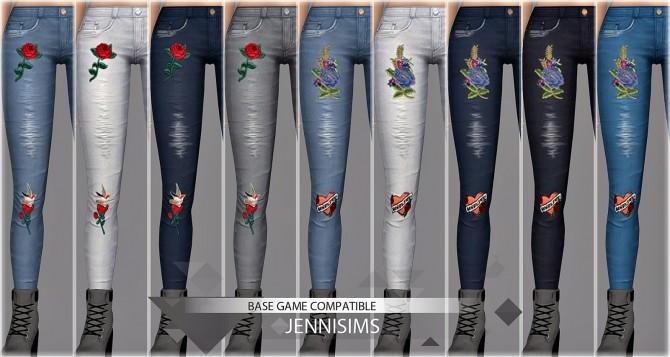Sims 4 Skinny jeans at Jenni Sims