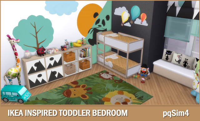 Toddler Bedroom at pqSims4 image 1741 Sims 4 Updates
