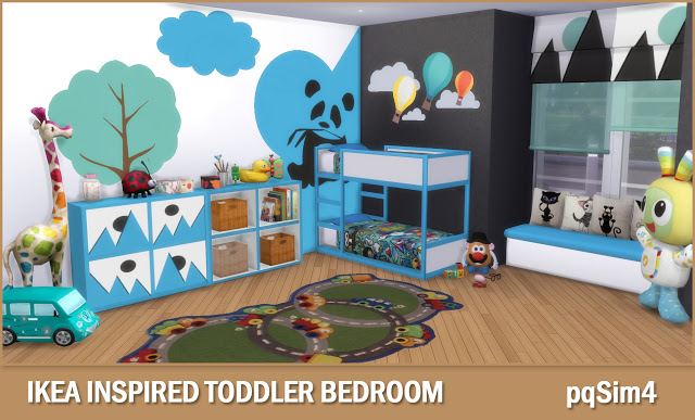 Toddler Bedroom at pqSims4 image 1751 Sims 4 Updates