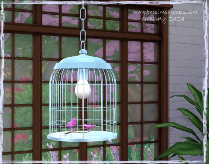 Lighting and painting by Granny Zaza at The Sims Models image 1774 670x527 Sims 4 Updates