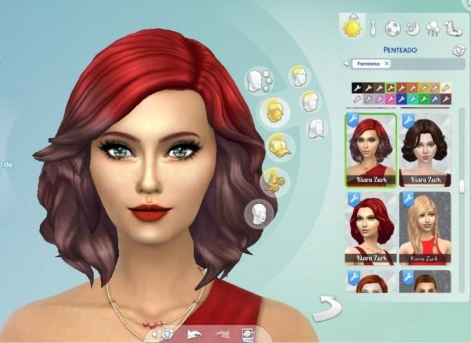 Medium Soft Wavy Ombre at My Stuff » Sims 4 Updates