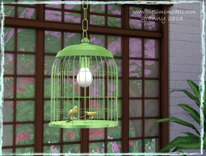 Lighting and painting by Granny Zaza at The Sims Models image 1784 670x509 Sims 4 Updates