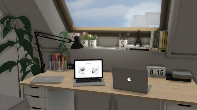 New office set at MXIMS image 1821 670x377 Sims 4 Updates