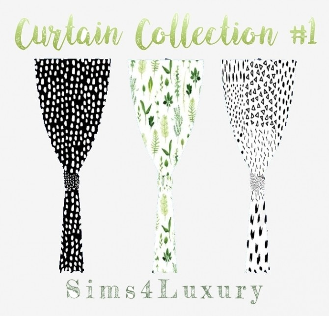 Sims 4 Curtain Collection #1 at Sims4 Luxury