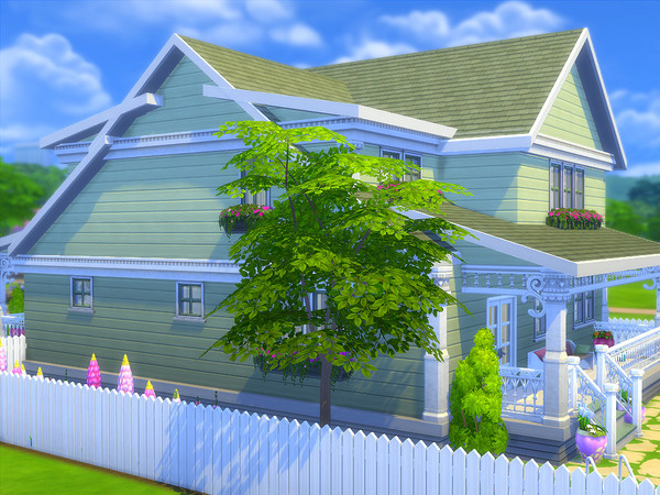Sister Bay house by sharon337 at TSR image 1825 Sims 4 Updates