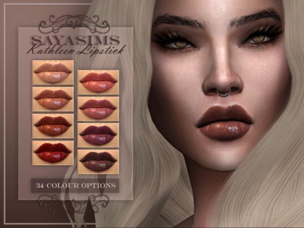 Kathleen Lipstick by SayaSims at TSR image 1826 Sims 4 Updates