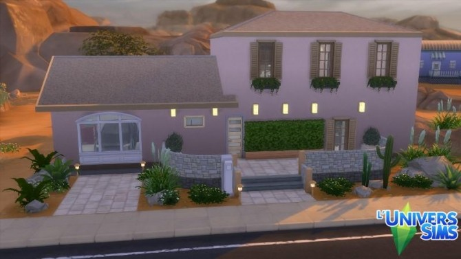 Lorchidée house by Falco at L'UniverSims image 185 670x377 Sims 4 Updates