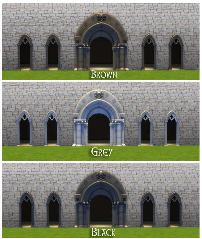 TSM to TS4 Medieval Arches at Historical Sims Life image 1851 Sims 4 Updates