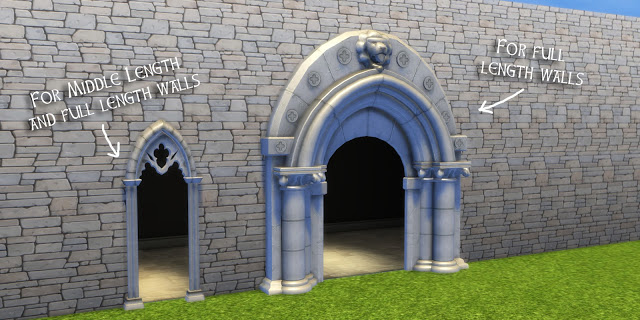 TSM to TS4 Medieval Arches at Historical Sims Life image 1871 Sims 4 Updates