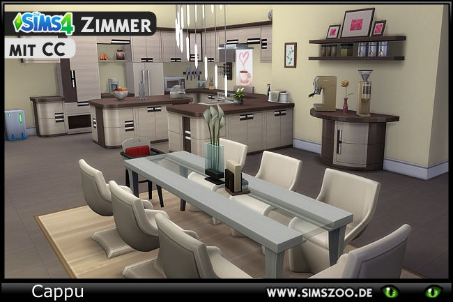 Valeria kitchen by Cappu at Blacky's Sims Zoo image 1894 Sims 4 Updates