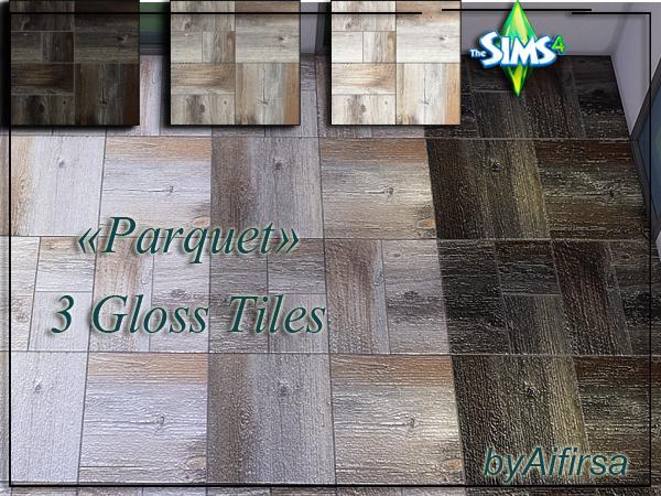 Sims 4 Parquet Tiles by Aifirsa at Lady Venera
