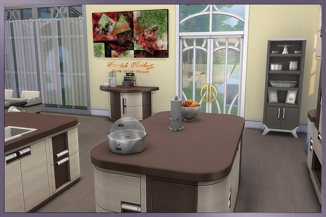 Valeria kitchen by Cappu at Blacky's Sims Zoo image 1904 Sims 4 Updates