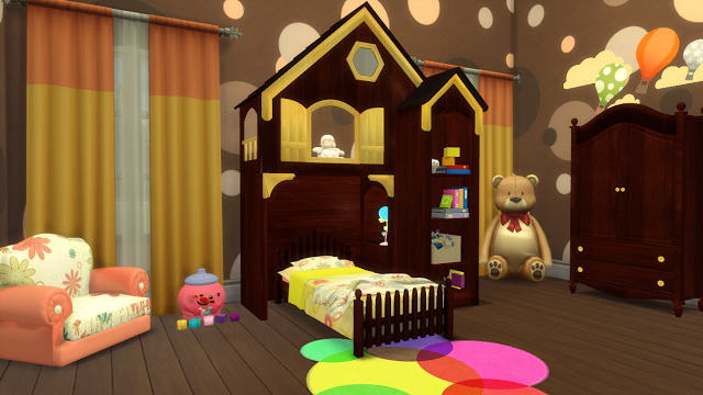 Sims 4 Fairytale Bedroom Set for Toddlers at Sanjana sims