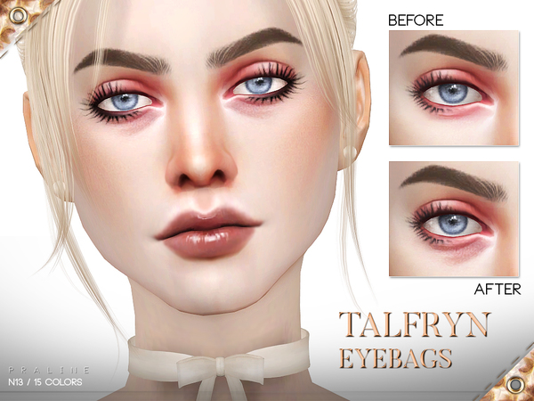 Talfryn Eyebags N13 by Pralinesims at TSR image 1914 Sims 4 Updates
