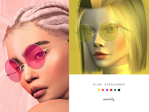 Elisa eyeglasses at SERENITY image 1925 Sims 4 Updates