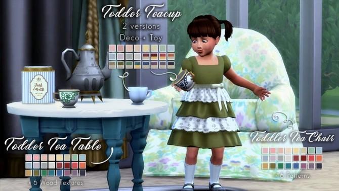 Teanmoon S Tea Party Birthday Set At The Plumbob Tea