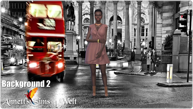 Town Streets CAS Backgrounds at Annett's Sims 4 Welt image 1984 Sims 4 Updates