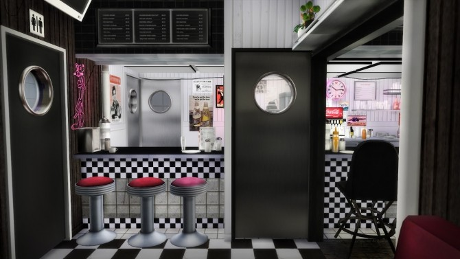 American Diner Part 3 at Daer0n – Sims 4 Designs image 1993 670x377 Sims 4 Updates