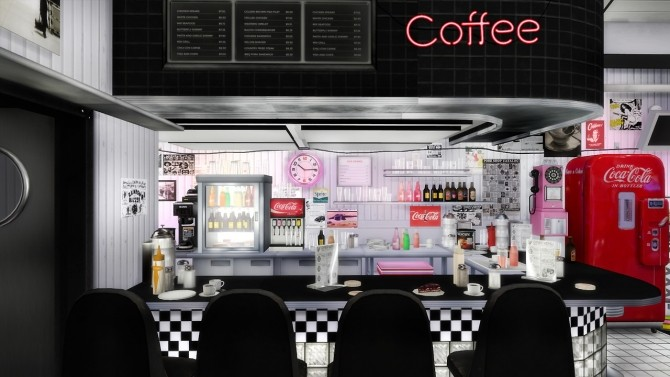 American Diner Part 3 at Daer0n – Sims 4 Designs image 2002 670x377 Sims 4 Updates