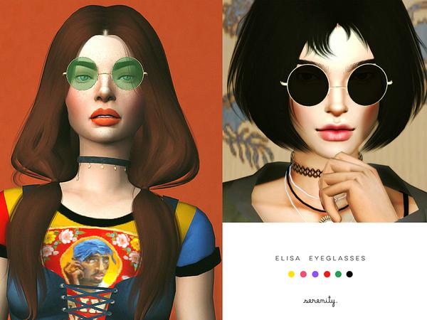 Elisa eyeglasses at SERENITY image 2026 Sims 4 Updates