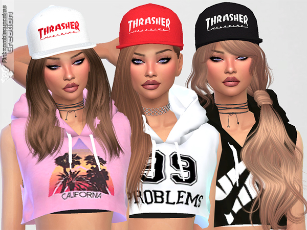Diamond Urban Cap Collection by Pinkzombiecupcakes at TSR image 2028 Sims 4 Updates