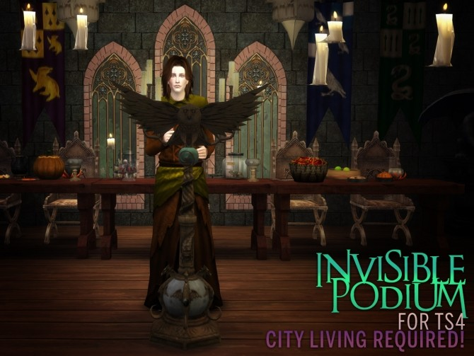 Invisible podium at The Path Of Nevermore image 2056 670x503 Sims 4 Updates