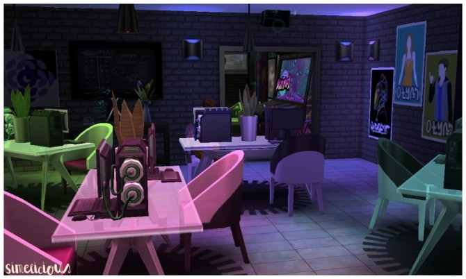 Galaxy Gaming Center at Simelicious » Sims 4 Updates