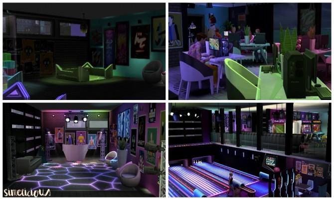 Galaxy Gaming Center at Simelicious image 2082 670x402 Sims 4 Updates