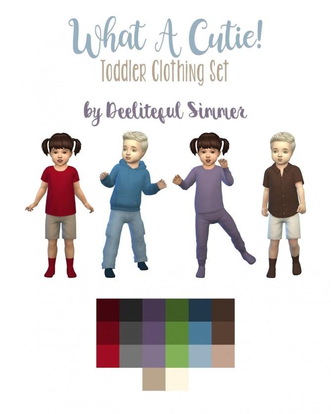 Sims 4 Toddler set at Deeliteful Simmer