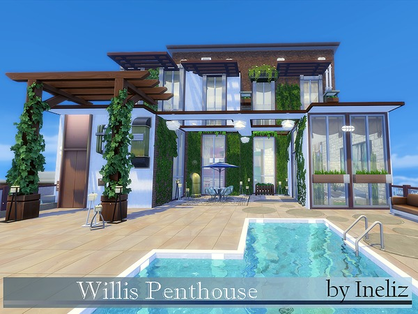 Willis Penthouse by Ineliz at TSR image 2110 Sims 4 Updates