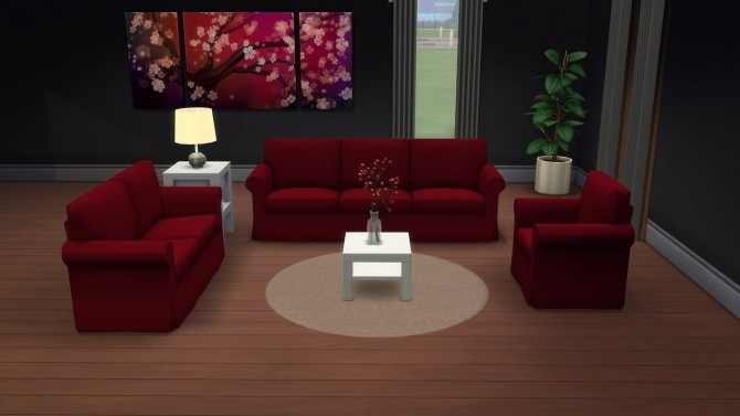 Adonisplutos Ektorp furniture recolors at Deeliteful Simmer image 2135 670x377 Sims 4 Updates