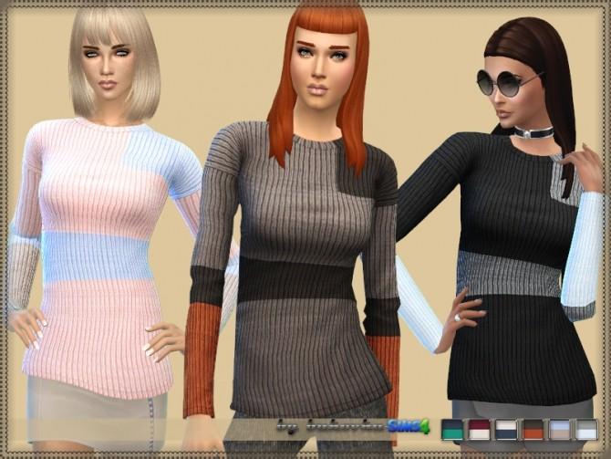 Sims 4 Sweater Three Colors by bukovka at TSR
