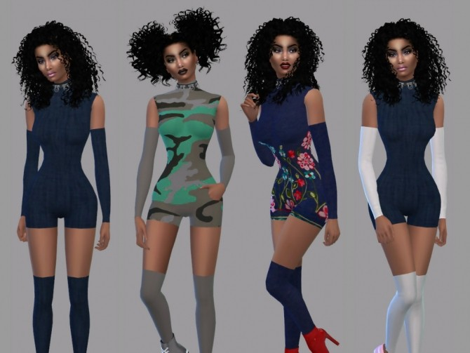 Acc Cutout Catsuit at Teenageeaglerunner image 2165 670x503 Sims 4 Updates
