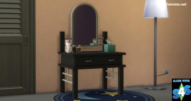 Sims 4 Bedroom Vanity at Simista