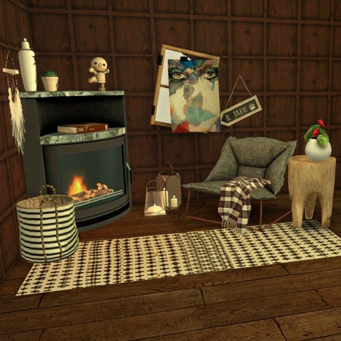 Five set at Leo Sims image 2186 670x670 Sims 4 Updates
