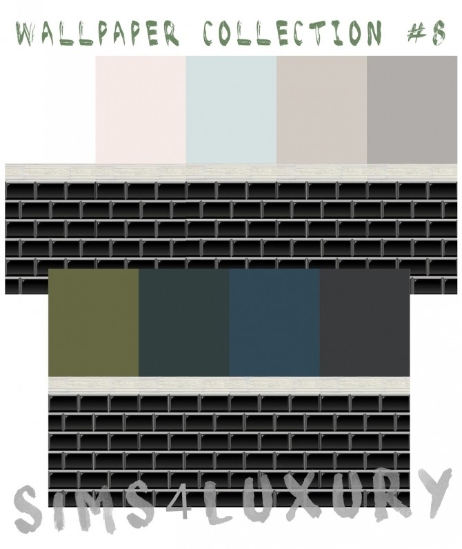 Sims 4 Wallpaper Collection #8 at Sims4 Luxury