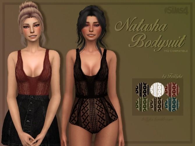 Sims 4 Natasha Bodysuit at Trillyke