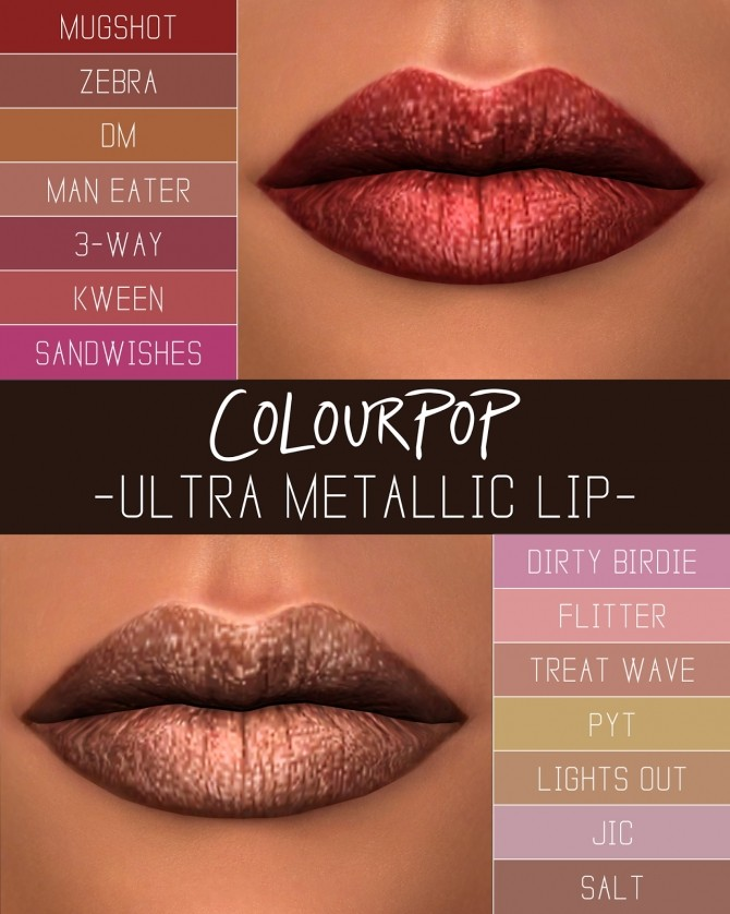 ULTRA METALLIC LIPS at Simpliciaty image 2226 670x838 Sims 4 Updates